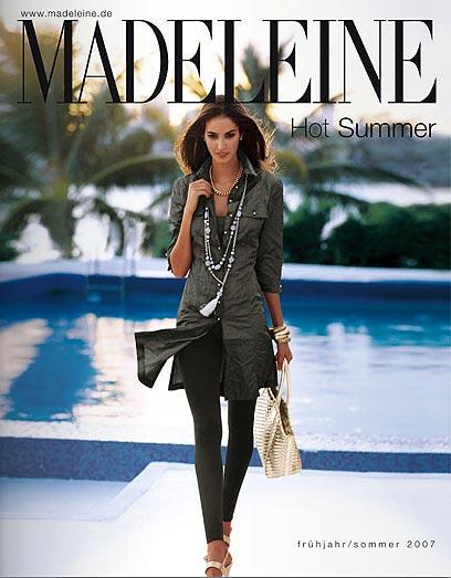 Madeleine combi - каталог эксклюзивной и притенциозной модной женской одежды сезона весна-лето 2009